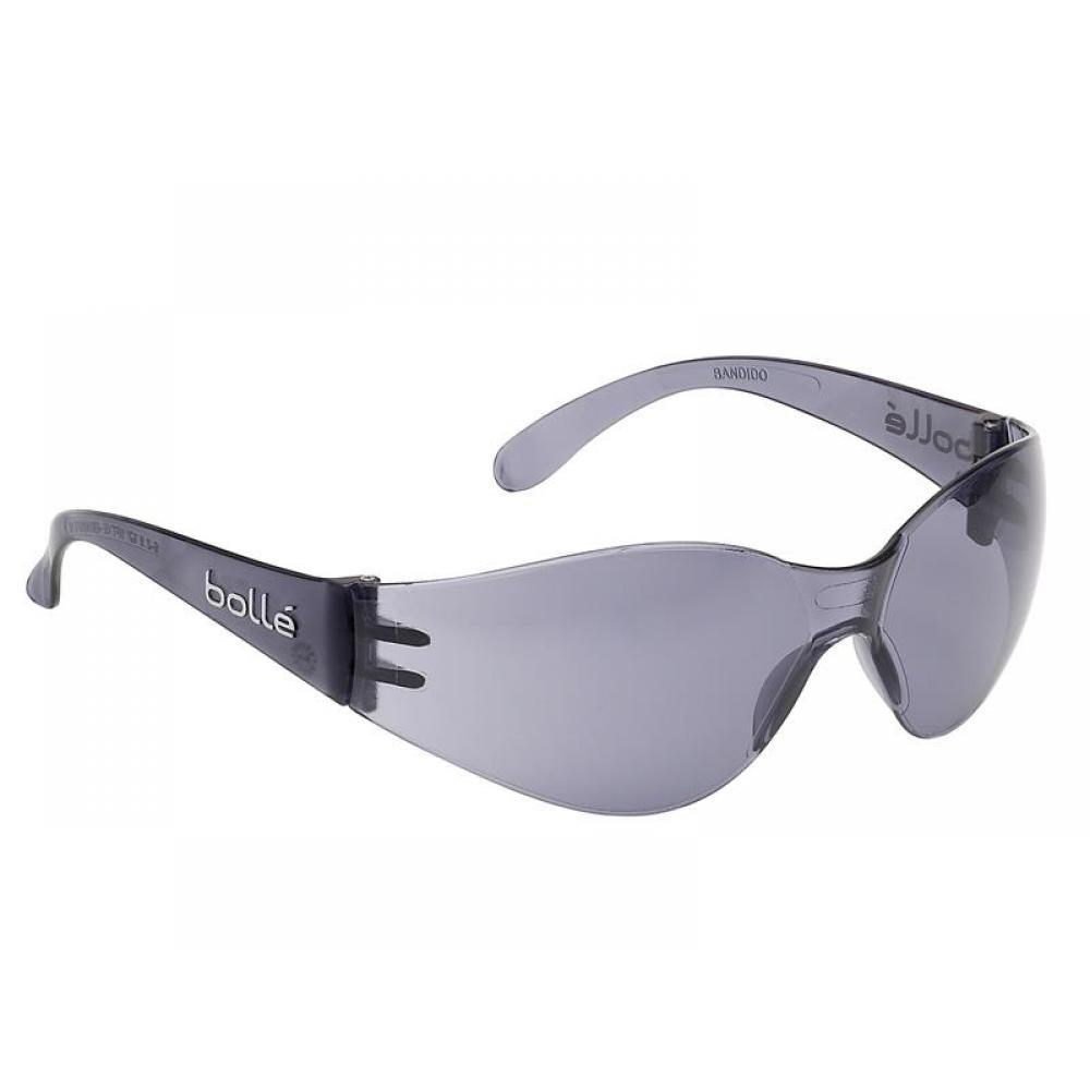 Bolle Safety BANDIDO Safety Glasses - Smoke BANPSF