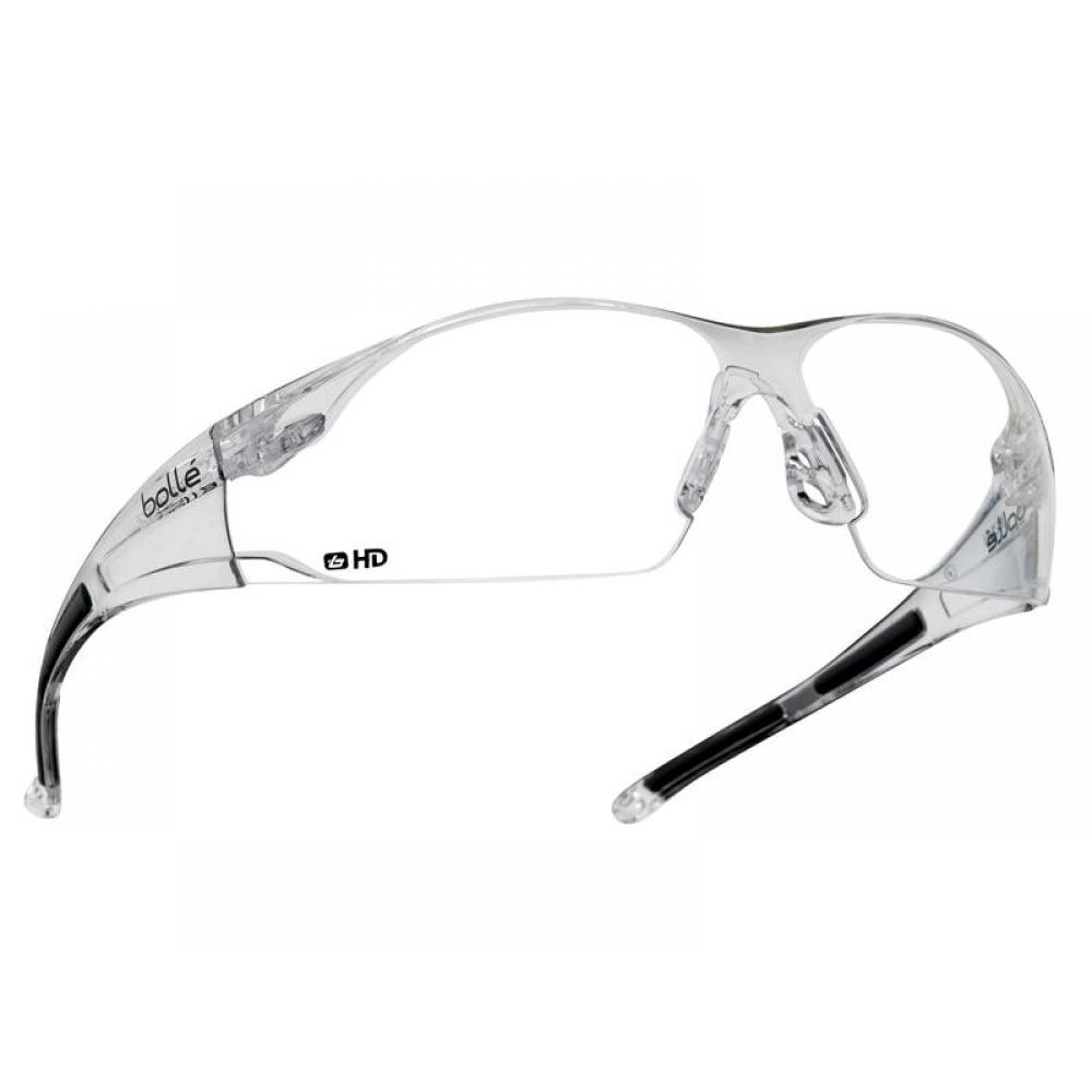 Bolle Safety RUSH Safety Glasses - Clear HD RUSHDPI