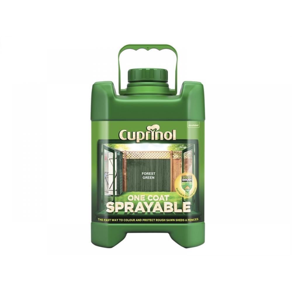 Cuprinol Spray Fence Treatment Forest Green 5 Litre
