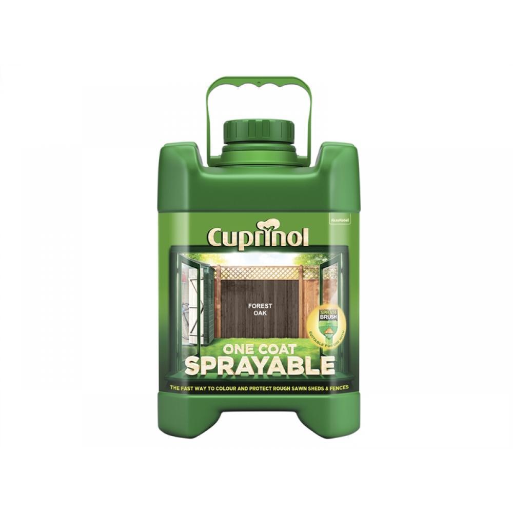Cuprinol Spray Fence Treatment Forest Oak 5 Litre