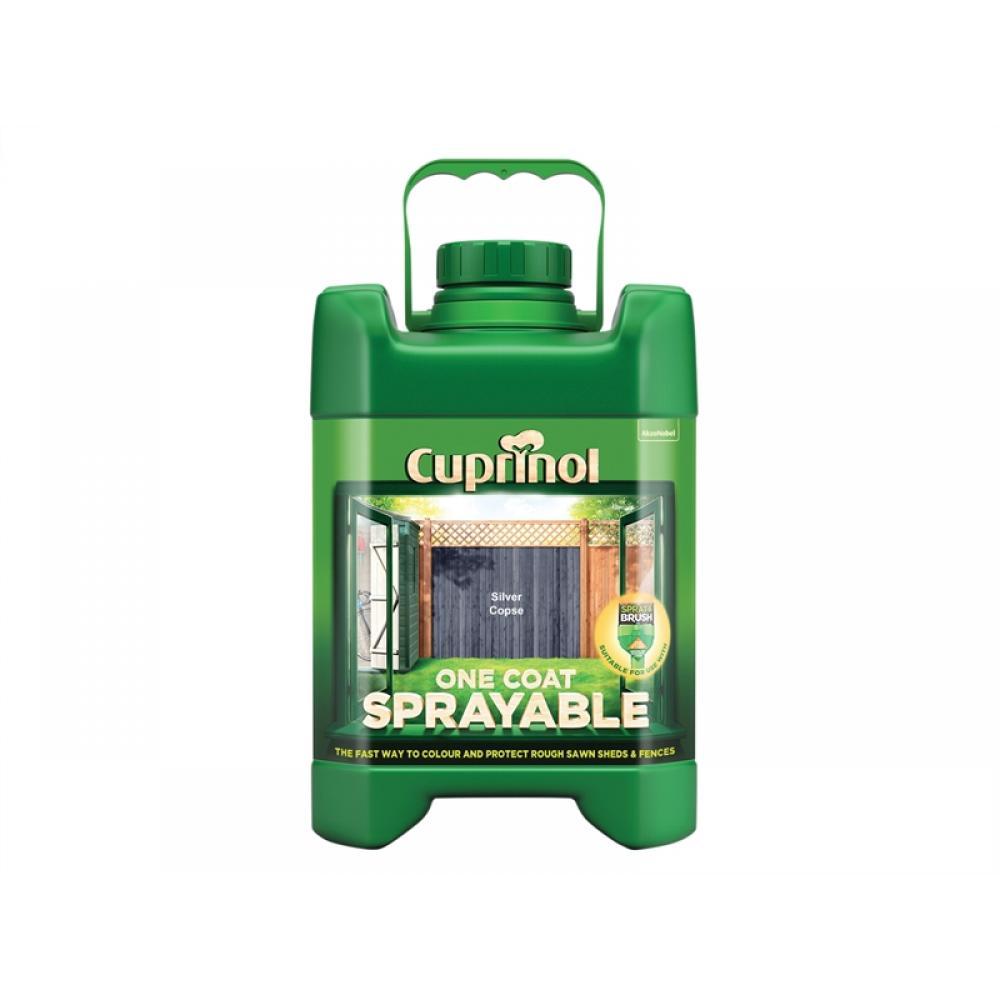 Cuprinol Spray Fence Treatment Silver Copse 5 Litre
