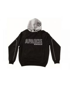 Apache Black / Grey Hooded Sweatshirt Range
