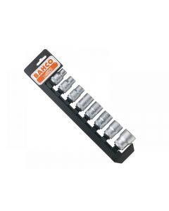 Bahco 1/2in Drive Socket Set + Rail Range