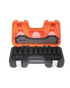 Bahco D-DD/S20 Mixed Impact Socket Set of 20 Metric 1/2in D-DD/S20