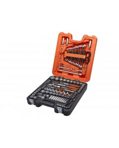 Bahco S138 1/4in 3/8in & 1/2in Socket Set, 138 Piece S138
