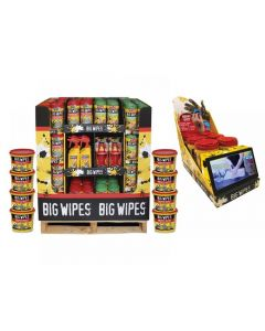 Big Wipes Half Pallet Counter Video Display Bundle HPD/COUNTERVIDEO 2019