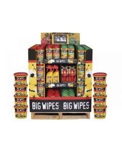 Big Wipes Half Pallet Video Display