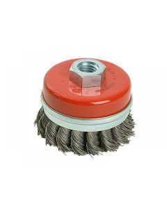 Black and Decker Twist Knot Wire Cup Brush 65mm M14 X36080