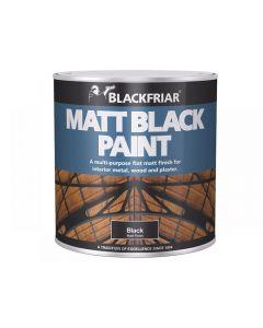Blackfriar Matt Black Paint Range