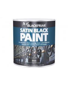 Blackfriar Satin Black Paint Range