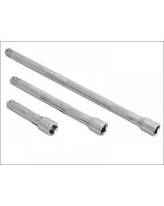 Blue Spot Tools 3/8in Square Drive CV Extension Bar Set 3 Piece 02072