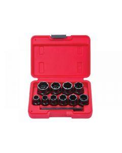 Blue Spot Tools Bolt Remover Set 9-19mm 10 Piece