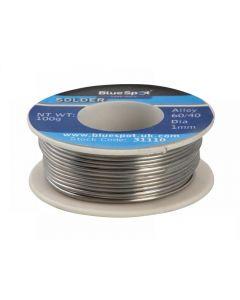Blue Spot Tools Flux Covered Solder 100g 60/40 31110