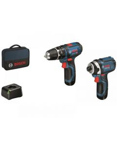 Bosch 06019A6979 Twin Pack 12V 2 x 2.0Ah Li-ion 06019A6979