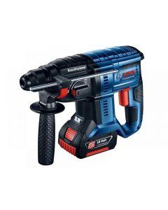 Bosch GBH 18V-20 SDS Plus Hammer Drill 18V 2 x 5.0Ah Li-ion 0611911073