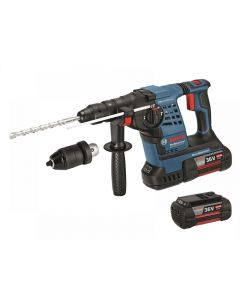 Bosch GBH36VF-LI-4 SDS Rotary Hammer Drill 36V 3 x 4.0Ah Li-Ion 0611907074