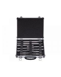 Bosch SDS Plus Mixed Hammer Drill & Chisel Set, 11 Piece 2608578765