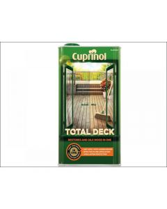 Cuprinol Total Deck Restore & Oil Wood Clear Range