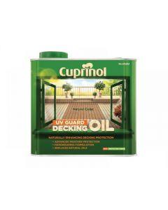 Cuprinol UV Guard Decking Oil Range