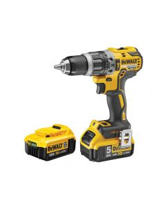 DeWalt DCD796PM XR Brushless Hammer Drill 18V 1 x 4.0Ah & 1 x 5.0Ah Li-ion .