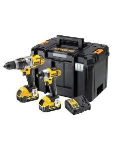 DeWalt DCK290M2T Twin Pack 18V 2 x 4.0Ah Li-ion DCK290M2T-GB