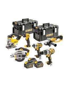 DeWalt DCK694T3 Brushless 6 Piece Kit 18V 3 x 6.0Ah DCK694T3