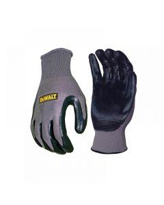 DeWalt DPG66 Nitrile Nylon Gloves - Large DPG66L
