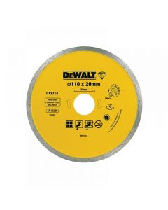 DeWalt DT3714 Diamond Tile Blade 110 x 20mm