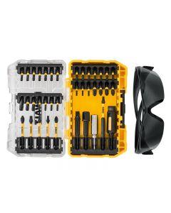 DeWalt DT70733T FLEXTORQ Screwdriving Set, 38 Piece + Safety Glasses DT70733T-QZ