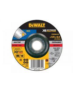 DeWalt FlexVolt XR Runtime Metal Grinding Disc 125mm Range