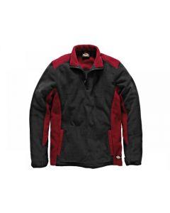 Dickies Two Tone Micro Fleece Red/Black Range