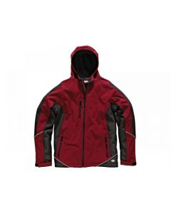 Dickies Two Tone Soft Shell Red/Black Jacket Range