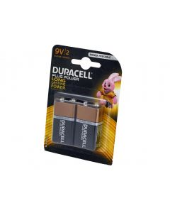 Duracell Plus Power 9V Batteries (Twin Pack) S3568