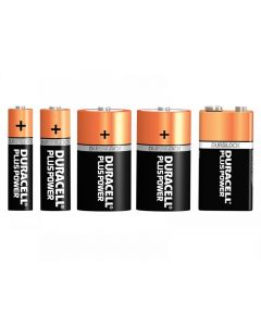 Duracell Plus Power Batteries Range