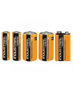Duracell Professional Industrial Batteries Range
