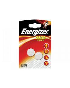 Energizer CR2032 Coin Lithium Battery Range