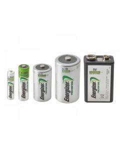 Energizer Rechargeable Batteries Range