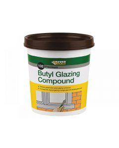 Everbuild 102 Butyl Glazing Compound Brown 2kg