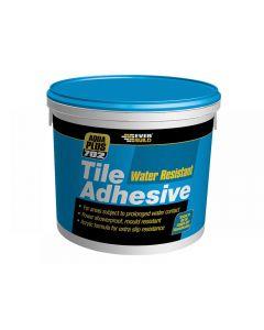 Everbuild 702 Water Resist Tile Adhesive Range