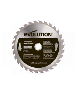 Evolution RAGE Wood Cutting Circular Saw Blade Range