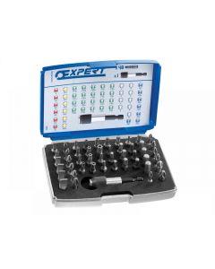 Expert 1/4in Bit Set 49 Piece + Bit Holder E131701
