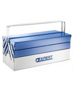 Expert Metal Cantilever Toolbox 5 Tray 45cm