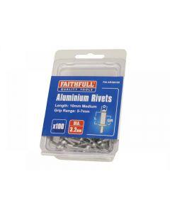 Faithfull Aluminium Rivets Range
