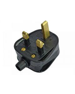 Faithfull Black Plug 240 Volt 13 Amp