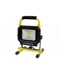 Faithfull COB LED Pod Site Light 20W 1400 Lumens 110V