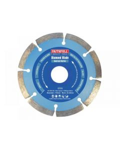 Faithfull Contract Diamond Blades Range