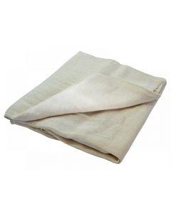 Faithfull Cotton Twill Polythene Backed Dust Sheet 3.6 x 2.8m