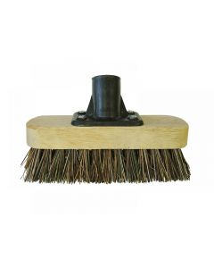 Faithfull Deck Scrub Broom Head 175mm (7in) Threaded Socket