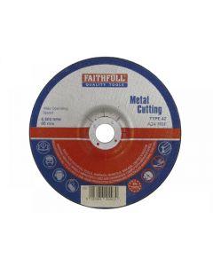 Faithfull Depressed Centre Metal Cut Off Disc Range