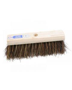 Faithfull Flat Broom Stiff Bassine / Cane 325mm (13in)